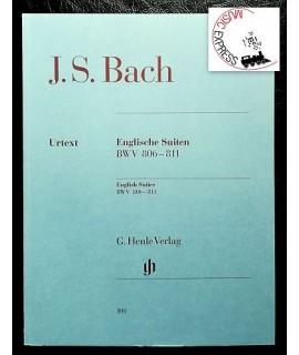 Bach - Englische Suiten BWV 806-811
