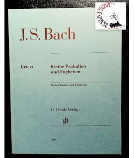 Bach - Little Preludes and Fughettas