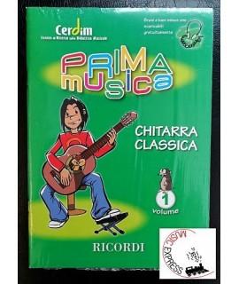 Cerdim - Collana PrimaMusica - Chitarra Classica Volume 1