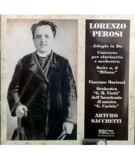 Lorenzo Perosi - Concerto per Clarinetto, Adagio, Suite Milano
