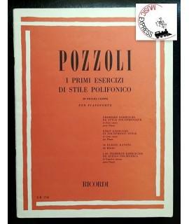 Pozzoli - I Primi Esercizi di Stile Polifonico - 50 Piccoli Canoni per Pianoforte