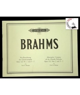 Brahms - Alternative Version of the Chorale Preludes Opus 122, Nos. 2, 5-7