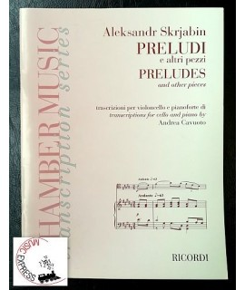 Skrjabin - Preludi e Altri Pezzi - Chamber Music Transcription Series