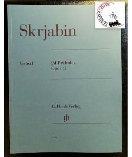 Skrjabin - 24 Preludes Opus 11