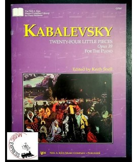 Kabalevsky - 24 Little Pieces Opus 39 for the Piano