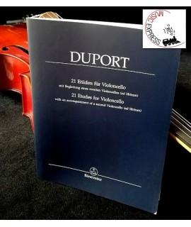 Duport - 21 Etudes for Violoncello