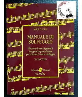 Fulgoni - Manuale di Solfeggio Volume Terzo