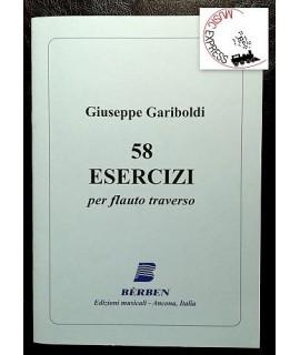 Gariboldi - 58 Esercizi Per Flauto Traverso