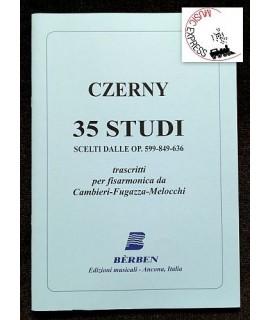 Czerny - 35 Studi Scelti dalle Op. 599-849-636 per Fisarmonica