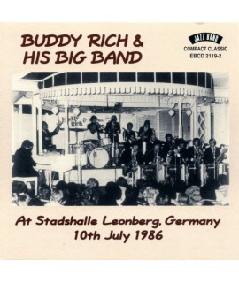 Buddy Rich & His Big Band - At Stadshalle Leonberg, Germany 10th July 1986