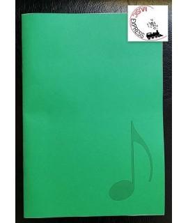 Quaderno di Musica Serie Promo - 12 Pentagrammi, 24 Pagine