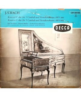 Johann Sebastian Bach - Konzert C-Dur Für Cembali Und Streichorchester BWV 1061, BWV 1064