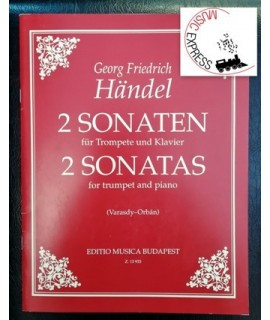 Händel - 2 Sonatas for Trumpet and Piano