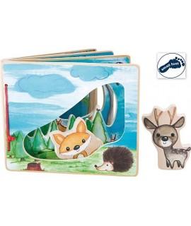 Libro Illustrato Foresta Interattiva - Small Foot Company