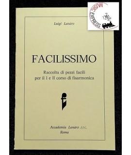 Lanaro - Facilissimo - Raccolta di Pezzi Facili per il I e il II Corso di Fisarmonica - Accademia Lanaro