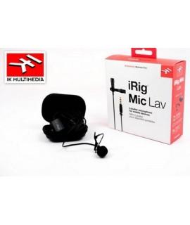 iRig Mic Lav - Microfono iRig Lavalier - IK Multimedia