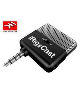 iRig Mic Cast - Microfono iRig - Ik Multimedia
