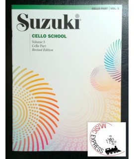 Suzuki Cello School Volume 3 - Cello Part Revised Edition