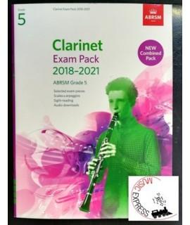 Clarinet Exam Pack 2018-2021 ABRSM Grade 5