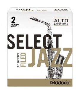 Rico Select Jazz 2 Soft Sax Contralto