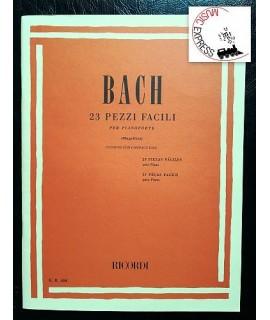 Bach - 23 Pezzi Facili per Pianoforte +CD