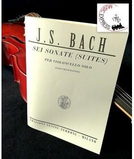 Bach - Sei Sonate per Violoncello Solo