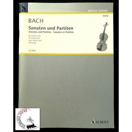 Bach - Sonaten Und Partiten für Violin Solo