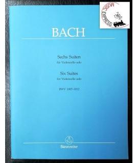 Bach - Six Suites for Violoncello Solo BWV 1007-1012