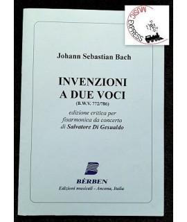 Bach - Invenzioni a Due Voci per Fisarmonica