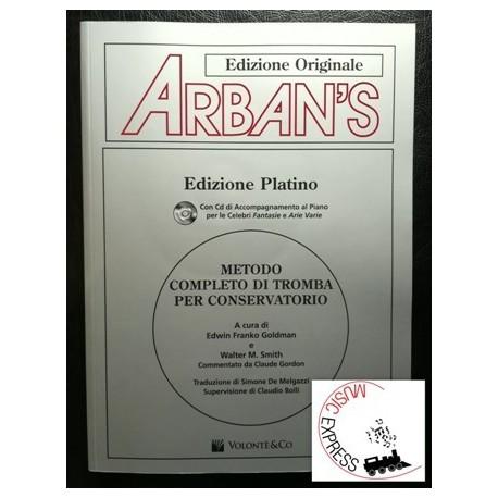 Arban - Metodo Completo di Tromba per Conservatorio