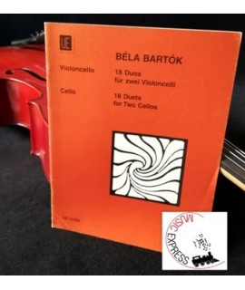 Bartok - 18 Duets for Two Cellos
