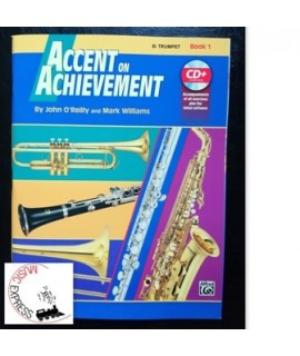 O'Reilly, Williams - Accent On Achievement Bb Trumpet Book 1