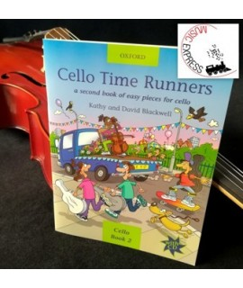 Blackwell - Cello Time Runners - Cello book 2