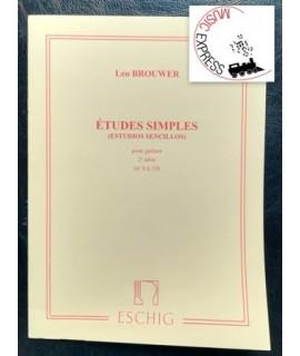Brouwer - Etudes Simples pour Guitare Volume 2