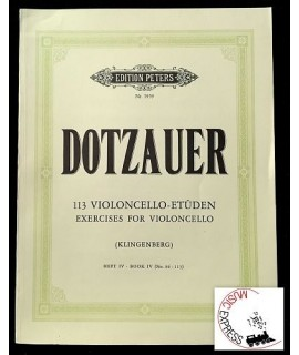 Dotzauer - 113 Violoncello-Etüden - Exercises for Violoncello - Book IV