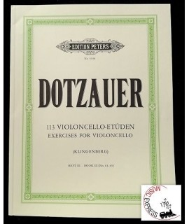 Dotzauer - 113 Violoncello-Etüden - Exercises for Violoncello - Book III