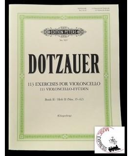 Dotzauer - 113 Violoncello-Etüden - Exercises for Violoncello - Book II