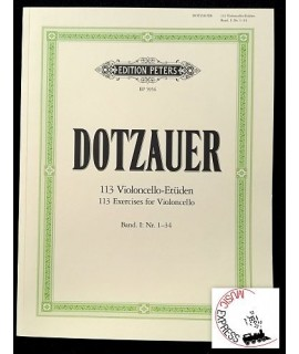 Dotzauer - 113 Violoncello-Etüden - Exercises for Violoncello - Book I