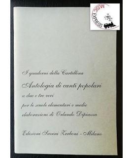 Vari - I Quaderni della Cartellina: Antologia di Canti Popolari a Due e Tre Voci