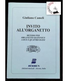 Cameli - Invito all'Organetto: Metodo per Organetto Diatonico a Due e Quattro Bassi