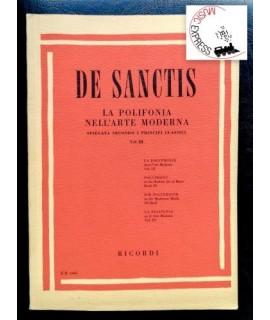 De Sanctis - La Polifonia nell'Arte Moderna Vol. III
