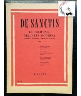 De Sanctis - La Polifonia nell'Arte Moderna Vol. II