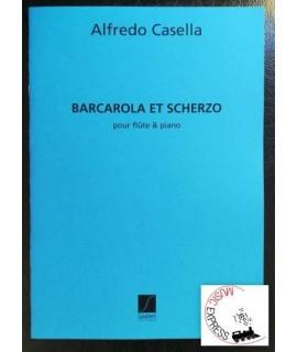 Casella - Barcarola et Scherzo pour Flute & Piano
