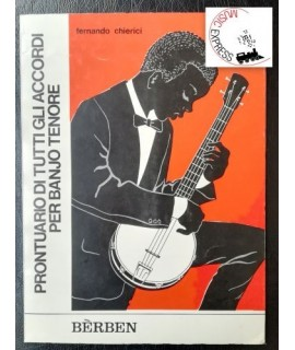 Chierici - Prontuario di Tutti gli Accordi per Banjo Tenore