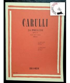 Carulli - 24 Preludi dall'Op. 114 per Chitarra