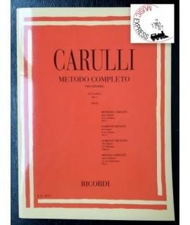 Carulli - Metodo Completo per Chitarra in 3 Volumi - Vol. I