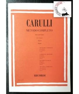 Carulli - Metodo Completo per Chitarra in 3 Volumi - Vol. II