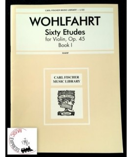 Wohlfahrt - Sixty Etudes for Violin, Op. 45 Book I