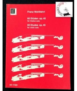 Wohlfahrt - 60 Etudes Op. 45 for Violin Solo