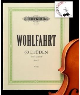 Wohlfahrt - 60 Studies Opus 45 for Violin